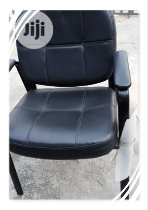 Visitor Leather Chair, | Furniture for sale in Imo State, Orlu