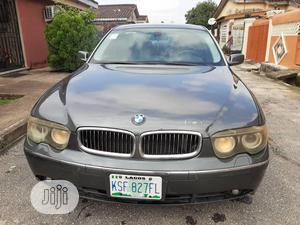 BMW 7 Series 2004 Black   Cars for sale in Lagos State, Ojo