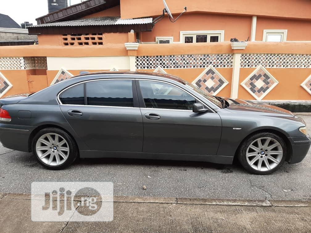Archive: BMW 7 Series 2004 Black