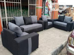 Set of 7seaters Sofa Chairs. Fabric Couch of 3,2,1,1-Seater   Furniture for sale in Lagos State, Agege