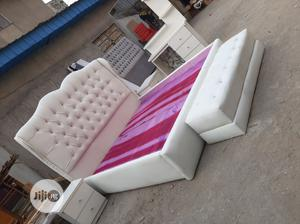 6/6 Upholstery Bed Frame | Furniture for sale in Lagos State, Ojo