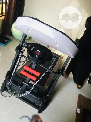 2.5hp German Machine Treadmill With Massager And Dumbbells   Sports Equipment for sale in Lagos State, Lekki