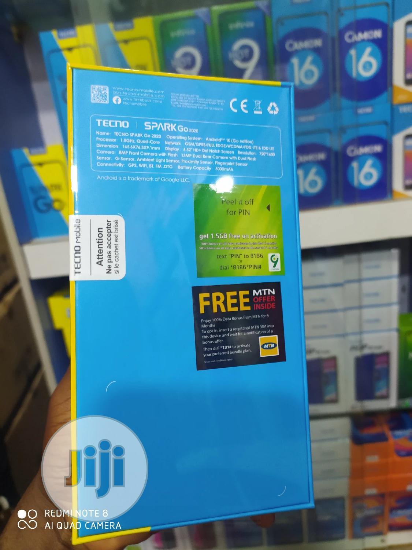 New Tecno Spark Go 2020 32 GB Blue | Mobile Phones for sale in Ikeja, Lagos State, Nigeria