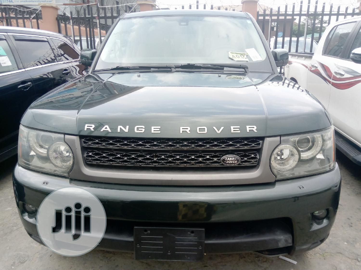 Archive: Land Rover Range Rover Sport 2010 HSE 4x4 (5.0L 8cyl 6A) Blue
