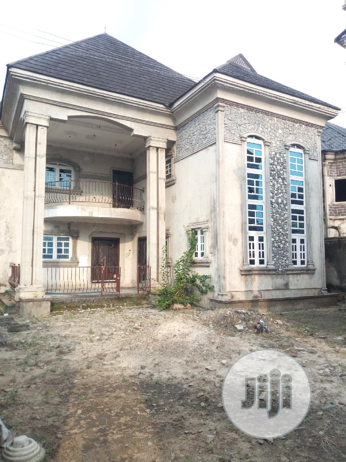 4bedroom Duplex With Good Light in New Rd Ada George PH | Houses & Apartments For Sale for sale in Port-Harcourt, Rivers State, Nigeria