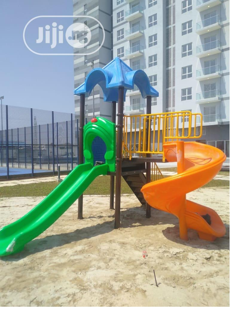 Archive: Play House With Swing And Slide Set