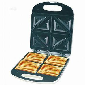 Large Electric 4 Slice Bread Toaster / Sandwich Maker | Kitchen Appliances for sale in Lagos State, Ikeja