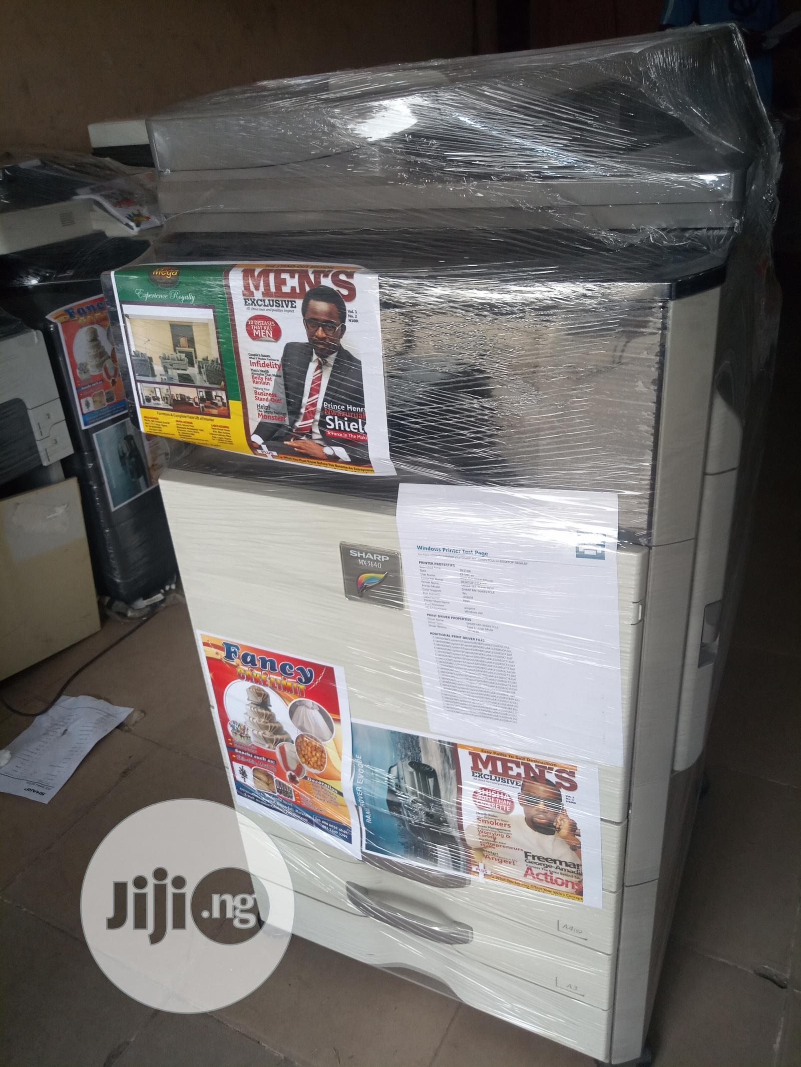 Sharp MX-3640   Printers & Scanners for sale in Surulere, Lagos State, Nigeria