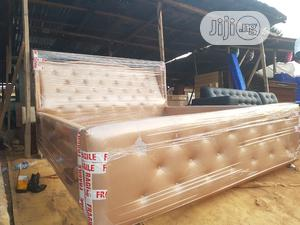 Modern 6by 6 Bed FRAME   Furniture for sale in Lagos State, Magodo