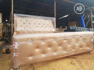 Modern 6by6 Bed Frame   Furniture for sale in Lagos State, Ikeja