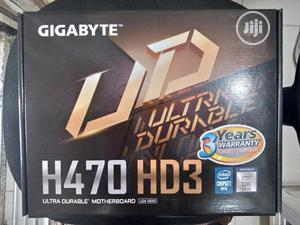 Gigabyte H470 Motherboard With Core I7 10th Gen Processor   Computer Hardware for sale in Lagos State, Ikeja