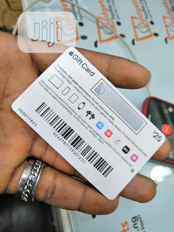 Apple Gift Card $25 iTunes Card