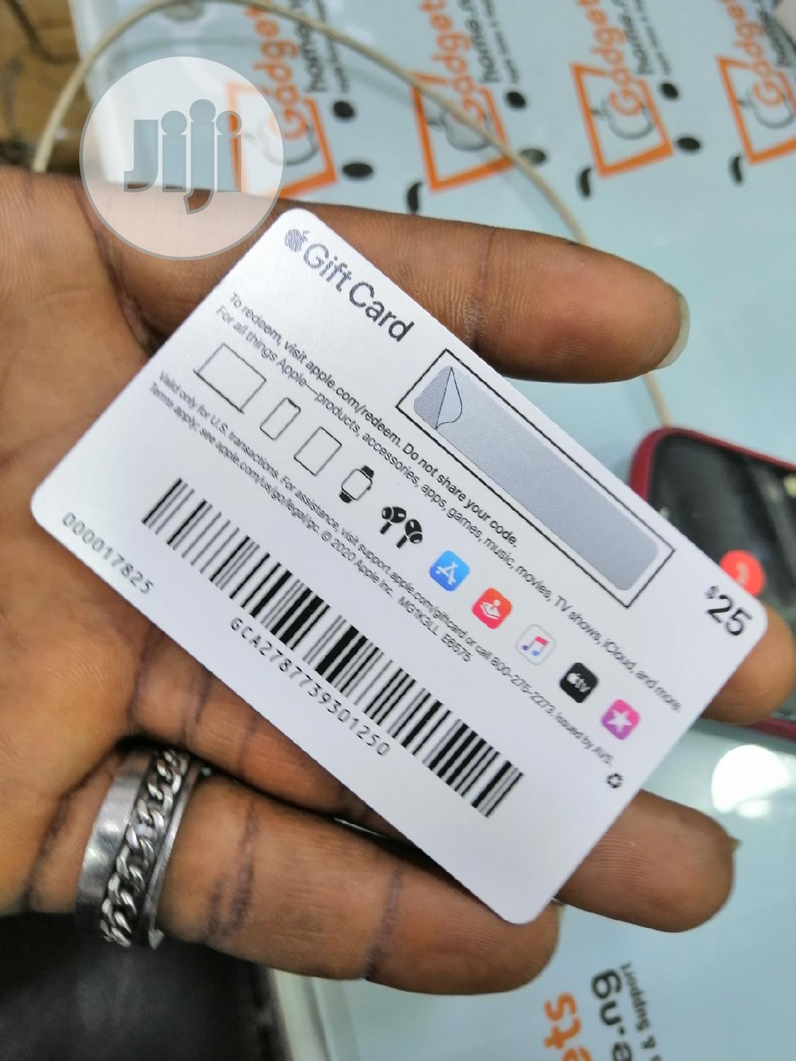 Apple Gift Card $25 | Accessories for Mobile Phones & Tablets for sale in Ikeja, Lagos State, Nigeria