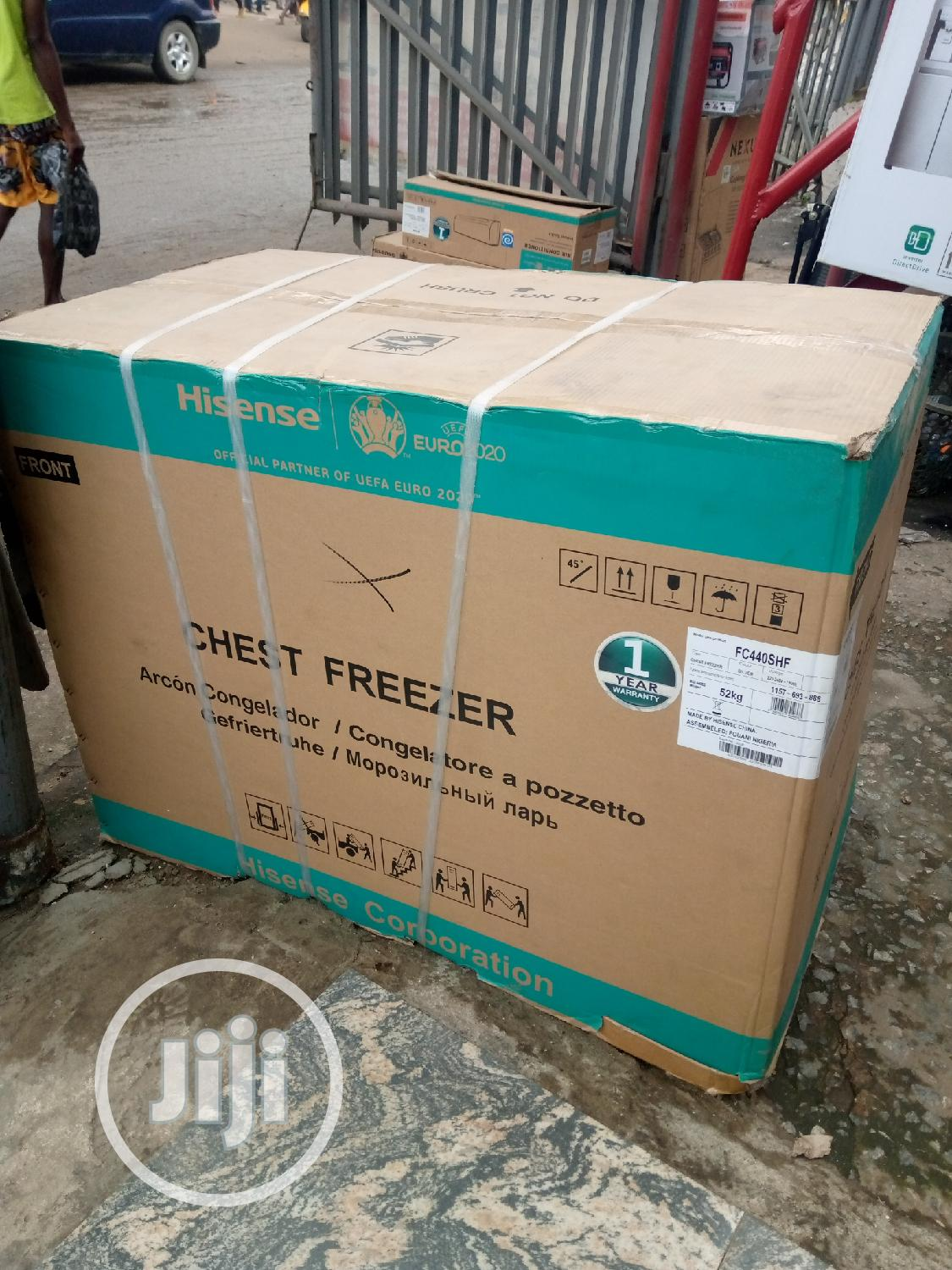 Hisense Deep Freezer Model SH 440