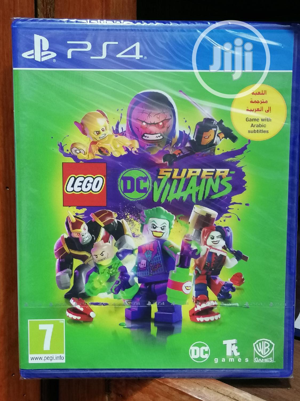 Lego DC Super-villains -ps4
