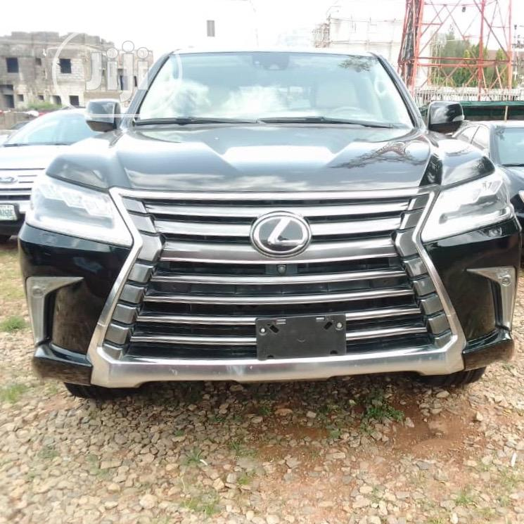 Lexus LX 2017 570 Base Black | Cars for sale in Gwarinpa, Abuja (FCT) State, Nigeria