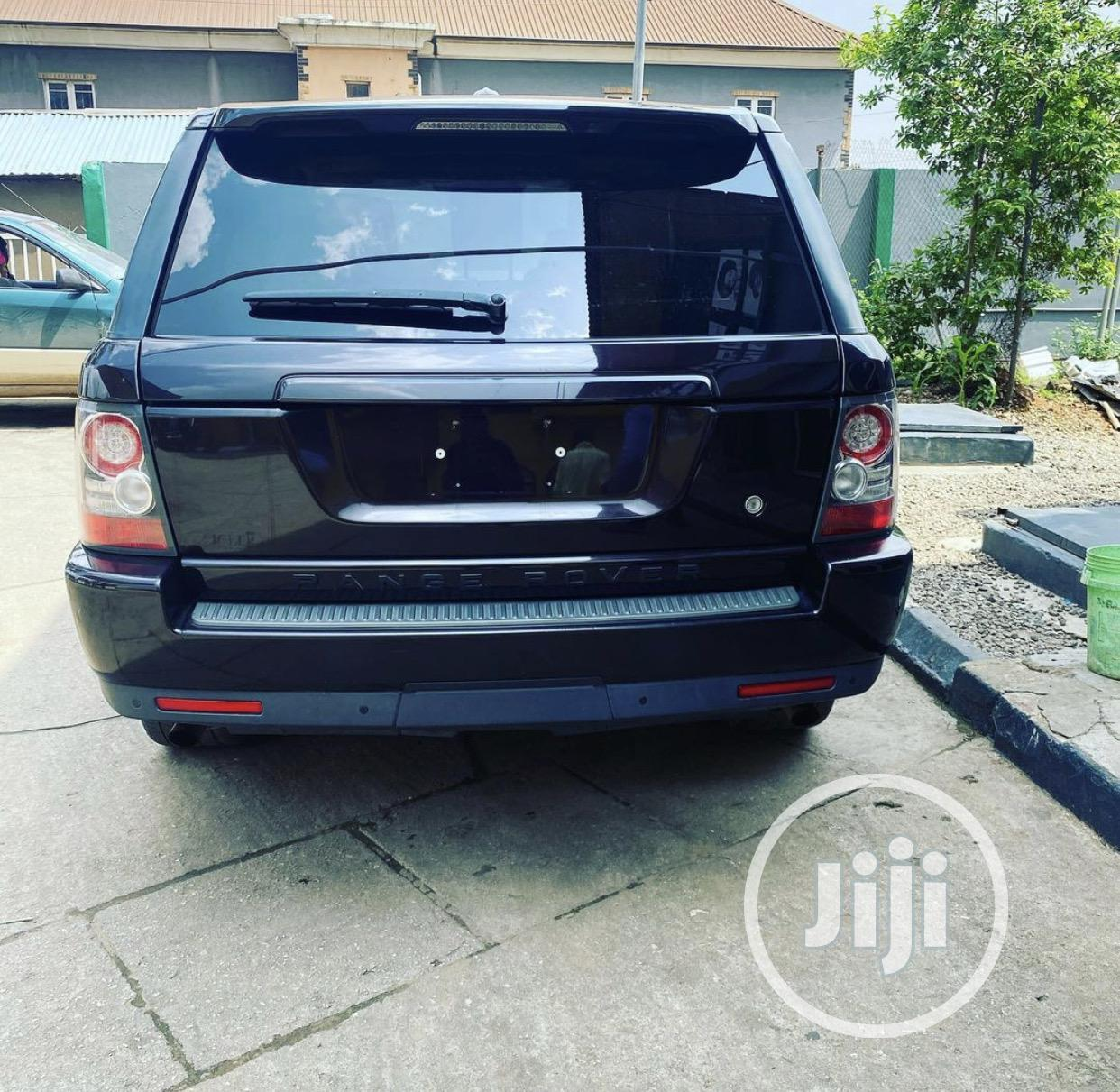 Land Rover Range Rover Sport 2011 HSE 4x4 (5.0L 8cyl 6A) Blue | Cars for sale in Abule Egba, Lagos State, Nigeria