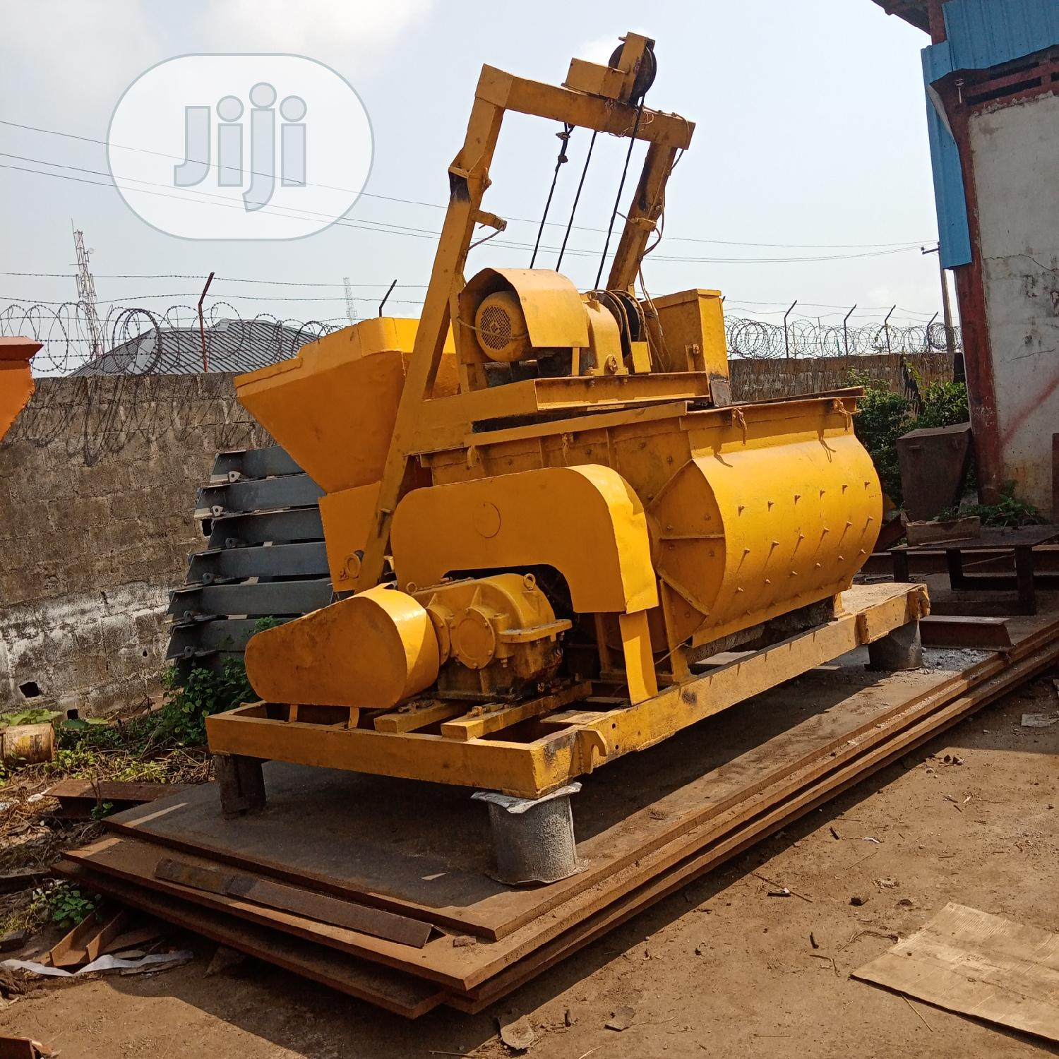 Concrete Mixer Model Js 500   Heavy Equipment for sale in Ibeju, Lagos State, Nigeria