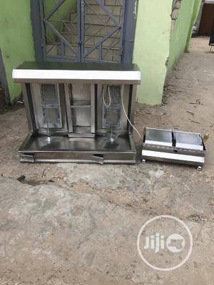 Double Shawarma Machine and Toaster Grill | Restaurant & Catering Equipment for sale in Lagos State, Ojo