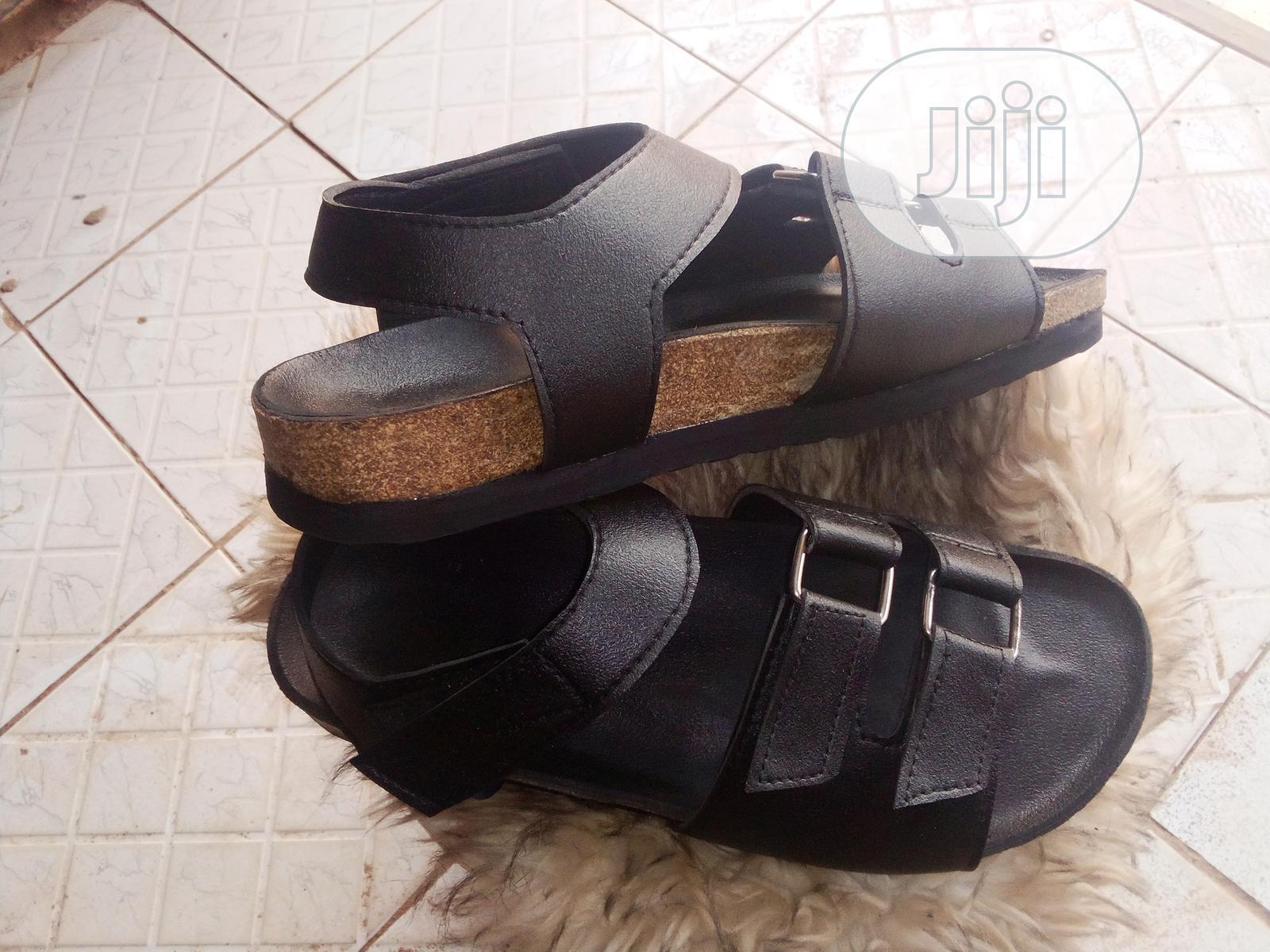 Black Betula Sandals