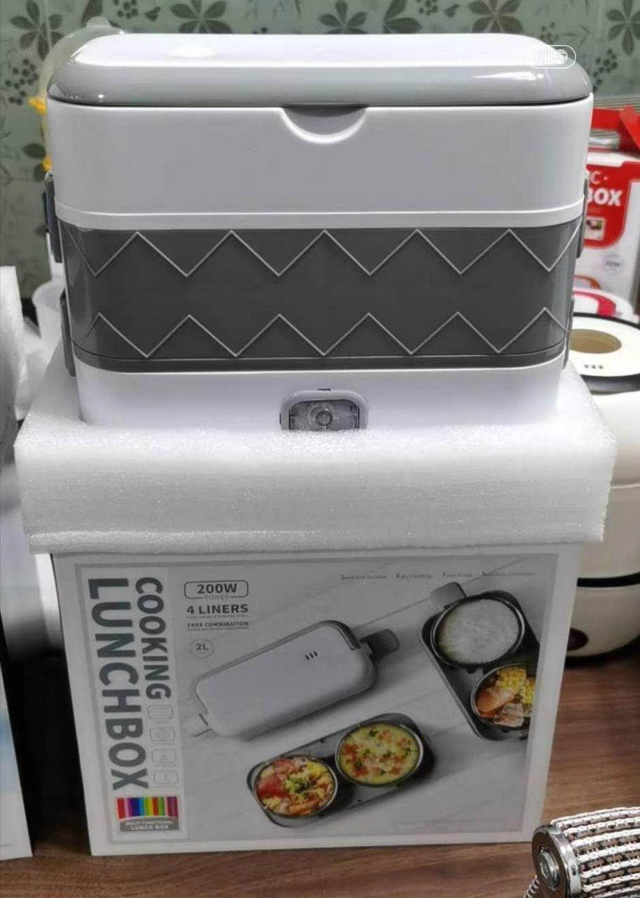 200W 4 Liner Cooking Lunch Box