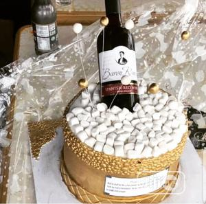 Birthday Cake + Wine   Meals & Drinks for sale in Edo State, Benin City