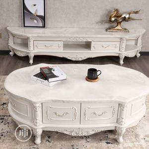 Marble Center Table and Tv Stand | Furniture for sale in Lagos State, Ojo