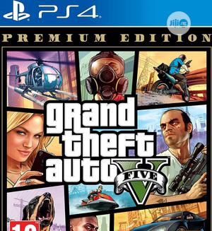 Grand Theft Auto v - Premium Edition (PS4) | Video Games for sale in Lagos State, Ajah