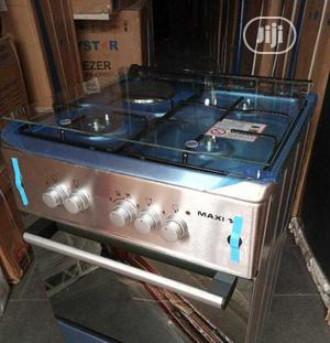 New Maxi Stand Gas 3+1 Gas Electric 50 by 50 Oven Auto | Kitchen Appliances for sale in Lagos State, Ojo