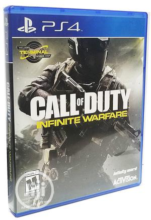 Call of Duty: Infinite Warfare - PS4 With Bonus Terminal Map | Video Games for sale in Lagos State, Ajah