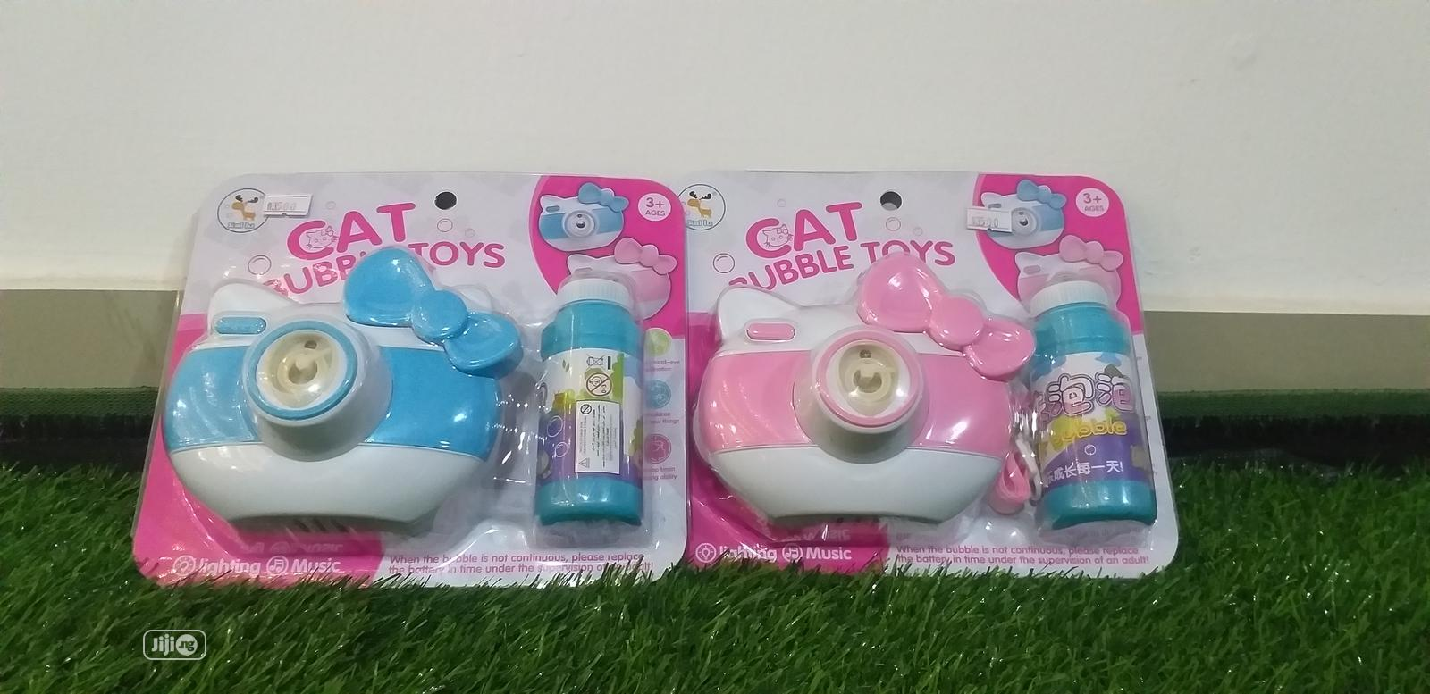 Children Bubble Camera Toy Gift