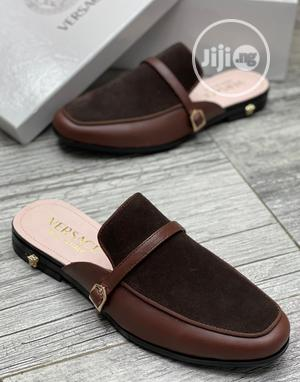 Versace Luxury Men Leather Half Shoes   Shoes for sale in Lagos State, Lagos Island (Eko)