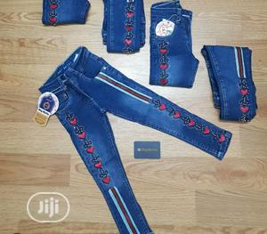 Big Girls Stretchy Jeans | Children's Clothing for sale in Lagos State, Surulere