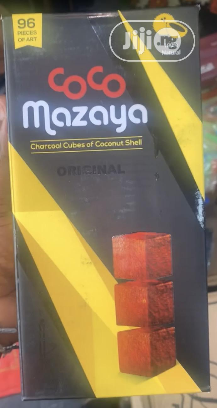 Coconut Shell Cubes Charcoal for Smoking Shisha