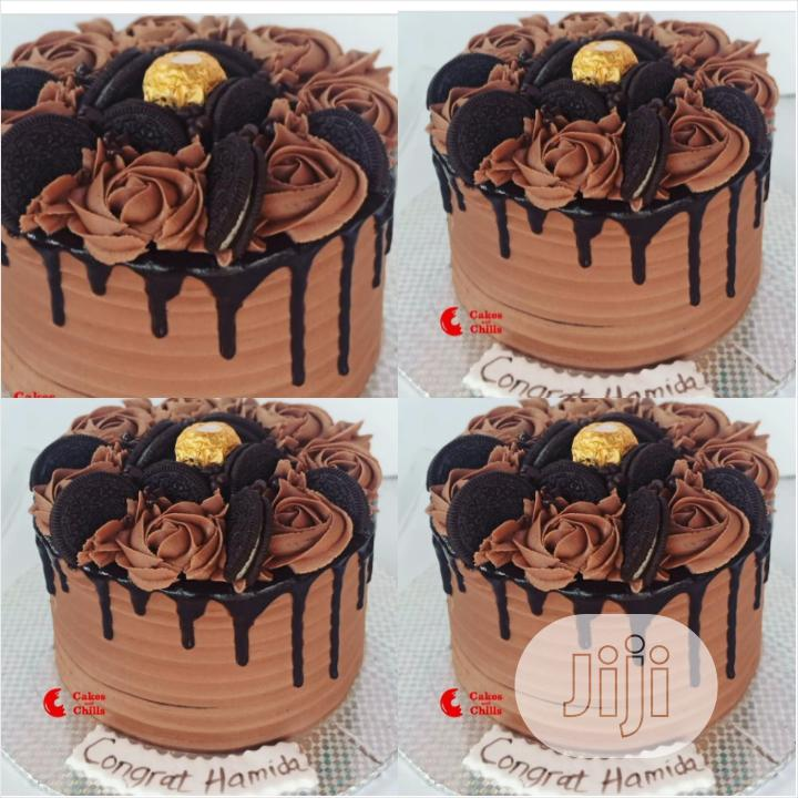 Moist 2 in 1 Chocolate Drip Birthday Cake