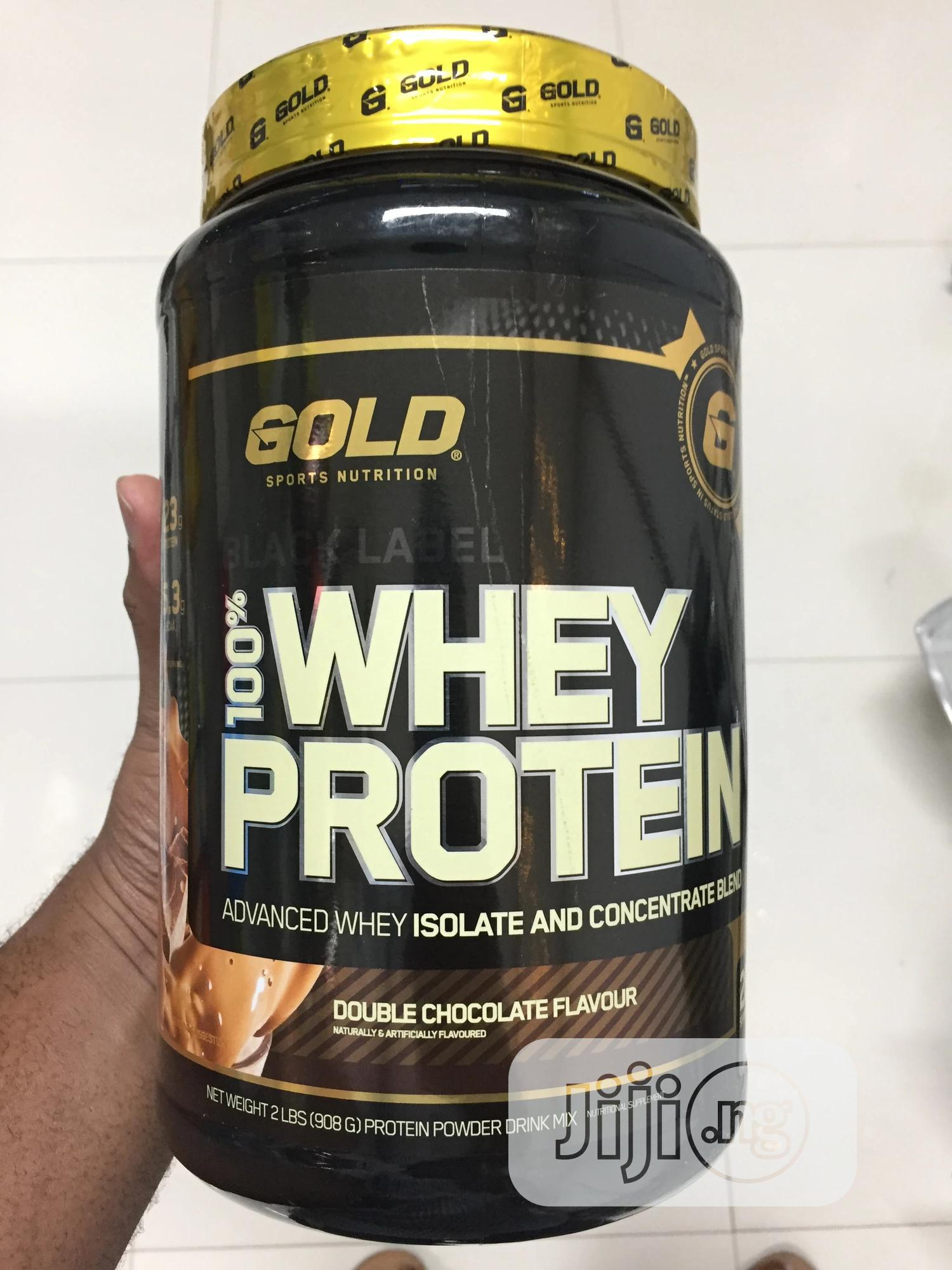 Gold Sports Black Label 100% Whey Protein | Chocolate Flavor