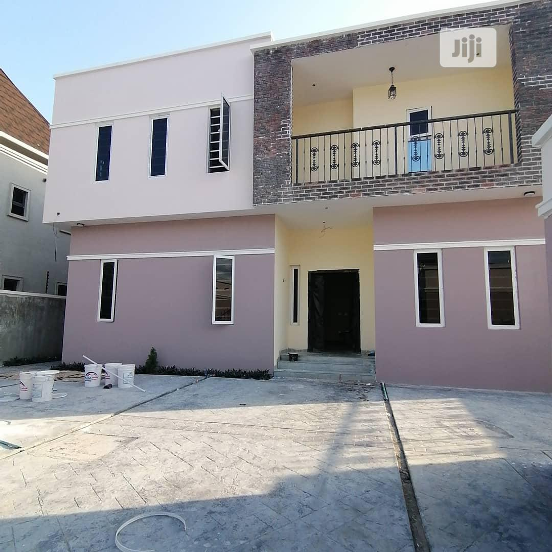 4 Bedroom Fully Detached Duplex With A Room Bq