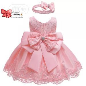 Pretty Children'S Girl Princess Flower Dress For Girls | Children's Clothing for sale in Lagos State, Ejigbo