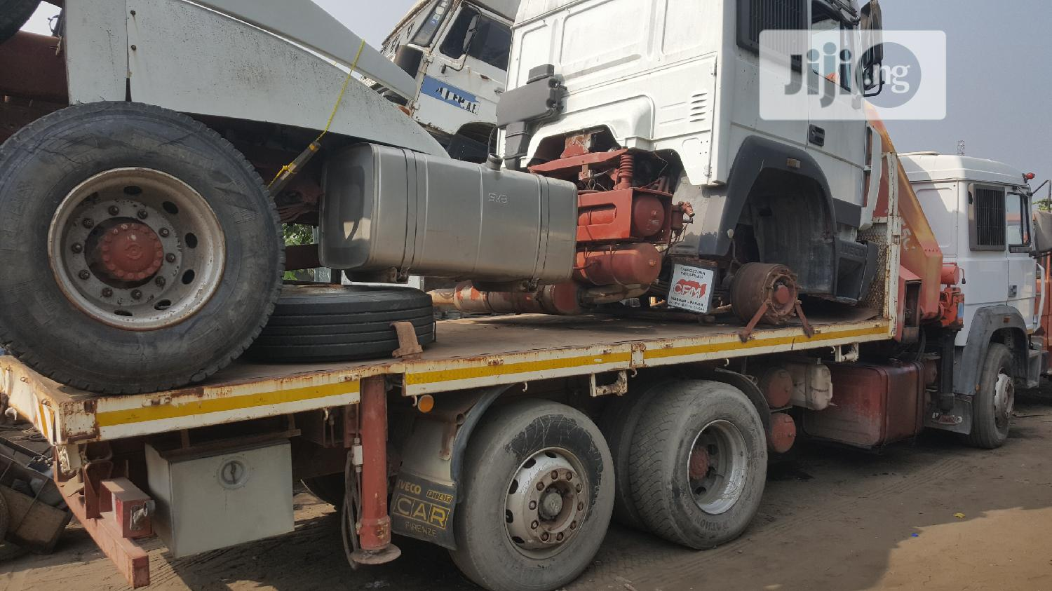 New Arrival 15tons Self Loader Crane IVECO Eight Tyres Truck   Trucks & Trailers for sale in Apapa, Lagos State, Nigeria
