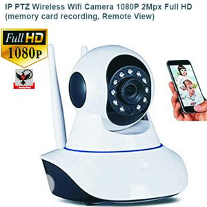 IP PTZ Wireless Wifi Camera 1080P 2mpx Full HD | Security & Surveillance for sale in Lagos State, Ikeja