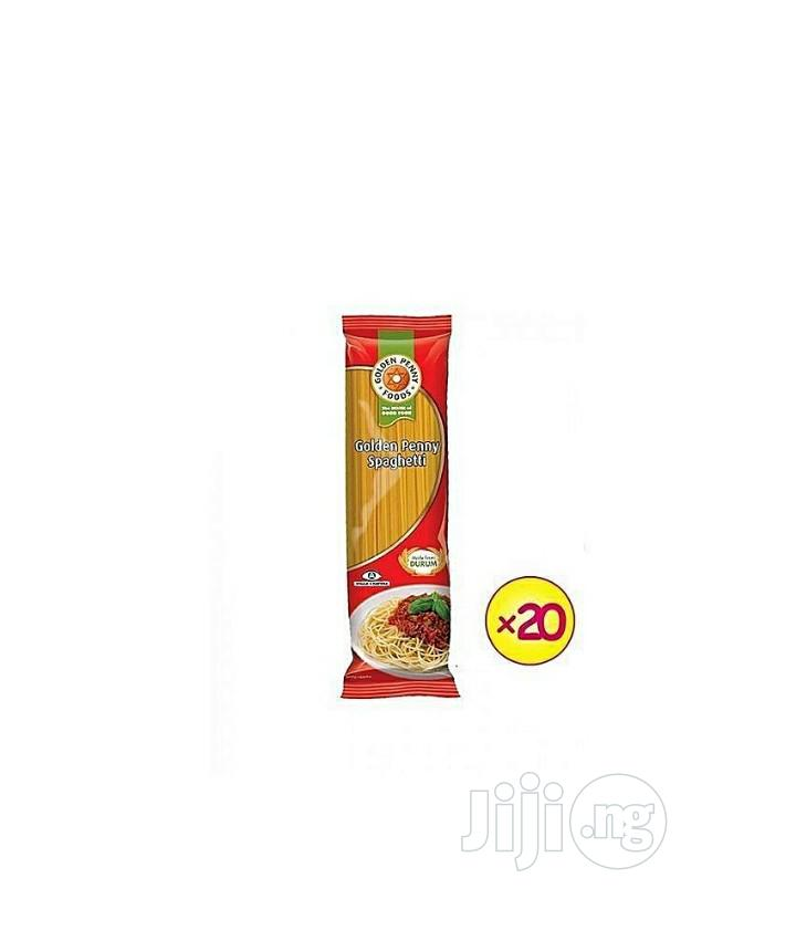 Archive: Spaghetti-500g (Pack of 20) 1 Carton