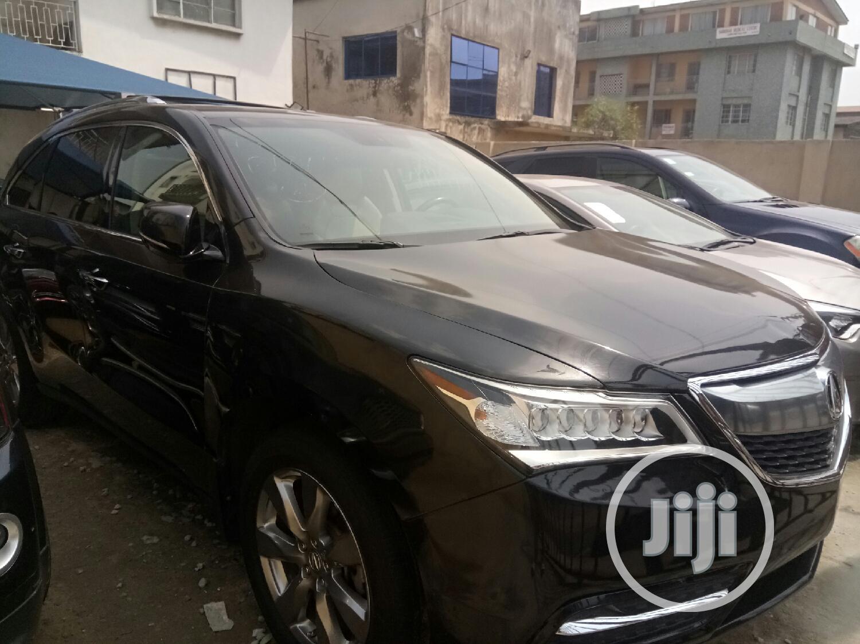 Acura MDX 2014 Black