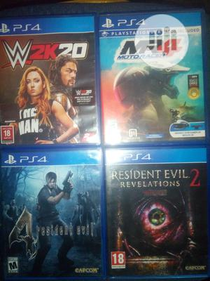 Ps4 Cds of Various Games   Video Games for sale in Lagos State, Alimosho
