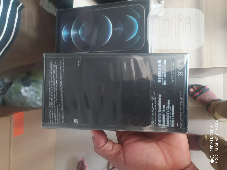 New Apple iPhone 12 Pro Max 128GB Black | Mobile Phones for sale in Ikeja, Lagos State, Nigeria