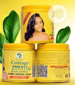 Cottage Fresh Herbal Soap (Super Skin Toner) / Ghana Soap | Bath & Body for sale in Lagos State, Agboyi/Ketu