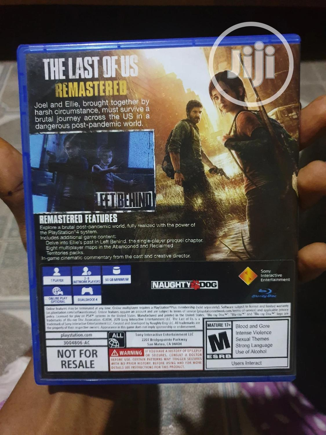 The Last Of Us | Video Games for sale in Ilorin West, Kwara State, Nigeria