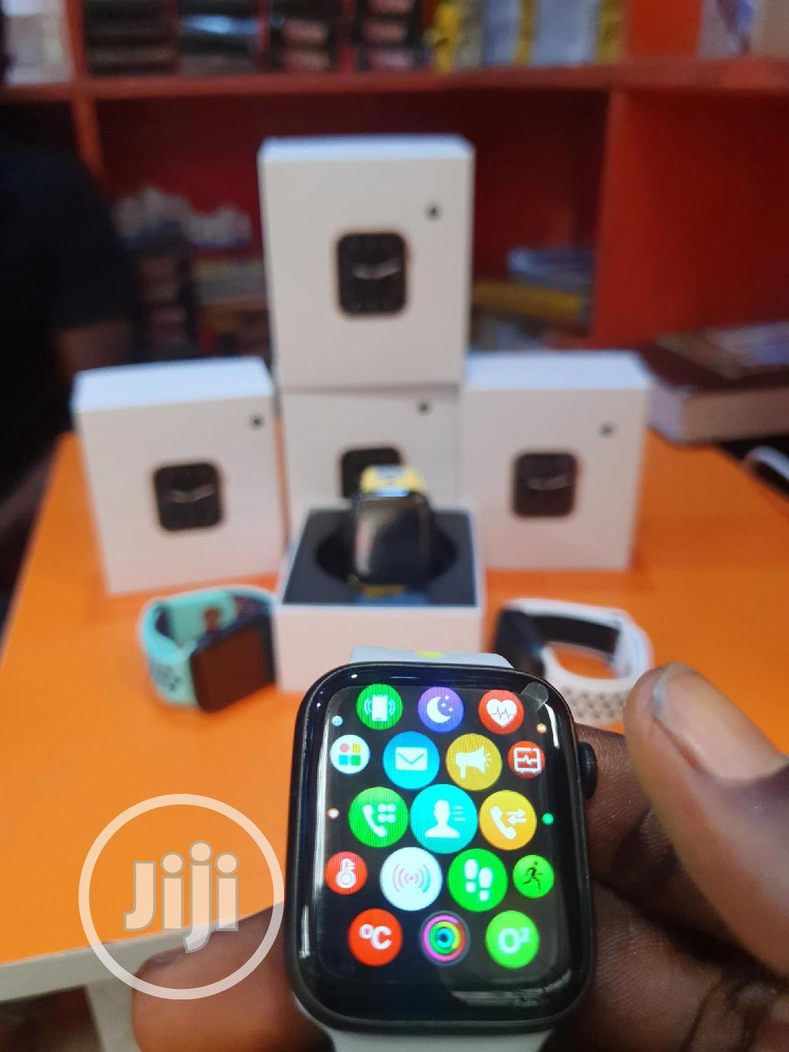 Iwatch Series 6 Replica With Zooming App | Smart Watches & Trackers for sale in Ikeja, Lagos State, Nigeria
