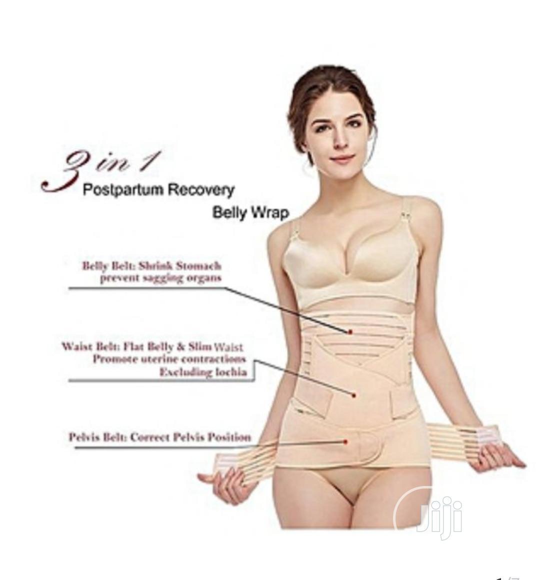 3 In1 Post Partum Belly Belt Body Shapewear
