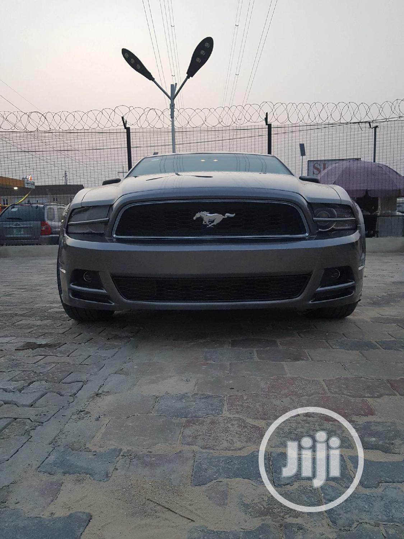 Ford Mustang 2014 Gray