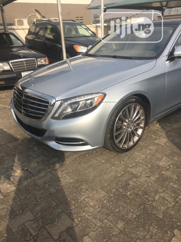 Archive: Mercedes-Benz S Class 2015 Silver